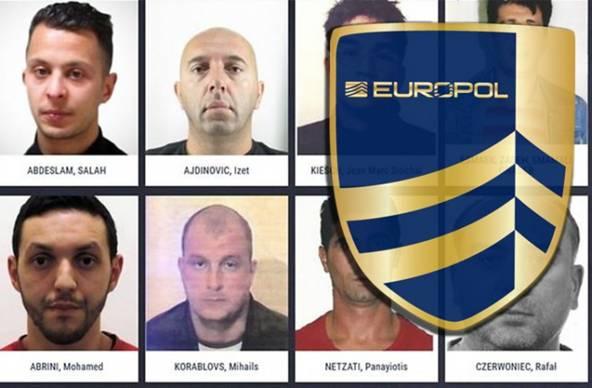 Europol objavio listu najtraženijih bjegunaca u Evropi (FOTO)