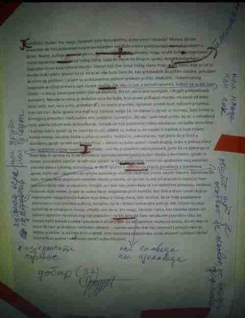 HIT NA DRUŠTVENIM MREŽAMA: Žalio se stanarima, a dobio ispravku pravopisnih grešaka i ocjenu