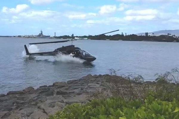 Havaji: Prilikom pada helikoptera teško povrijeđen šesnaestogodišnjak