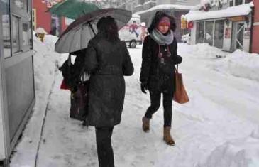 Vremenska prognoza za narednu sedmicu: Dolazi nam snijeg!