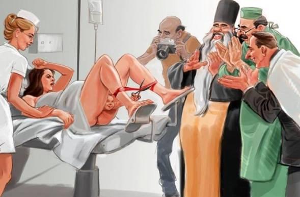 Satirične ilustracije koje prikazuju šokantnu realnost modernog društva