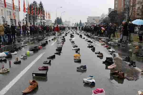 Građani Skoplja protestovali protiv masovnog iseljavanja