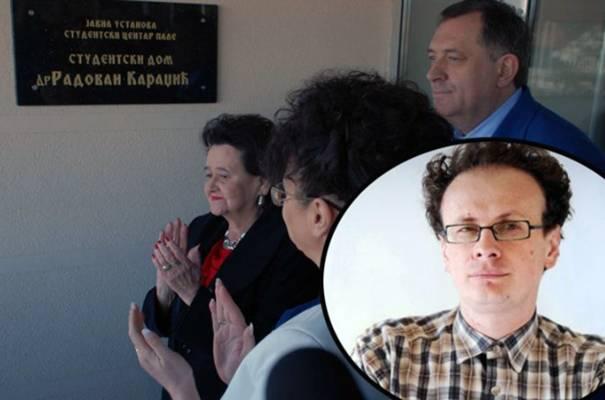 SRĐAN PUHALO O KARADŽIĆEVOM STUDENTSKOM DOMU: Sramota me što sam Srbin…