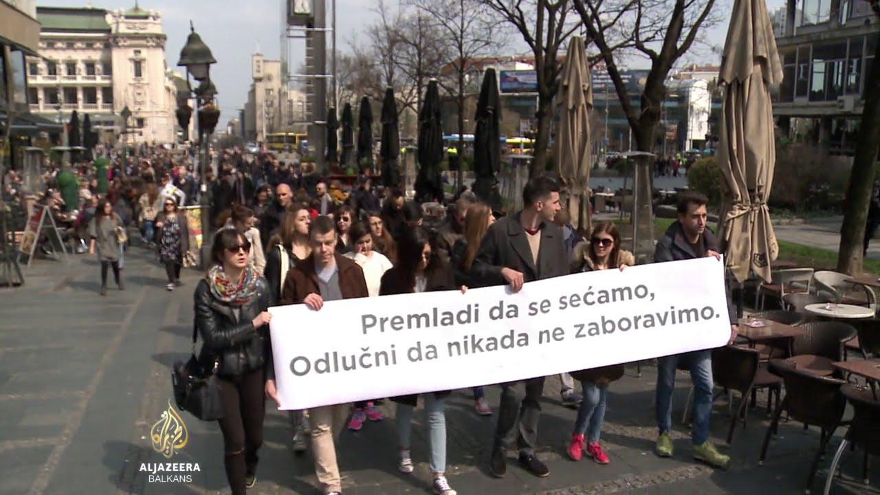 Mladi Beograđani protiv veličanja ratnih zločinaca… Pogledajte šta su uradili…