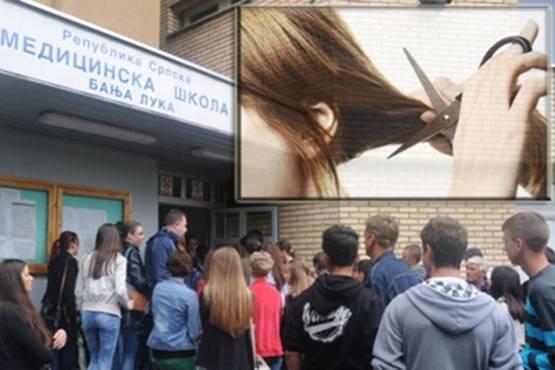 OVO IMA SMAO U BOSNI: Profesorica u Medicinskoj školi za kaznu ošišala cijeli razred…