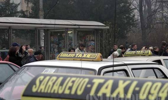 Taksisti ne smiju odbijati kratke vožnje, od sljedeće sedmice ih kontroliše i policija