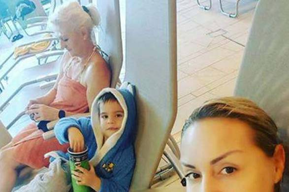 MALA DRAMA U FAMILIJI SELME BAJRAMI: Sa svojom mamom i sinom bila na bazenu, pa…