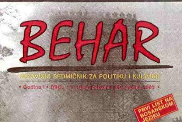 Pogledajte prve naslovnice novina u BiH za vrijeme rata