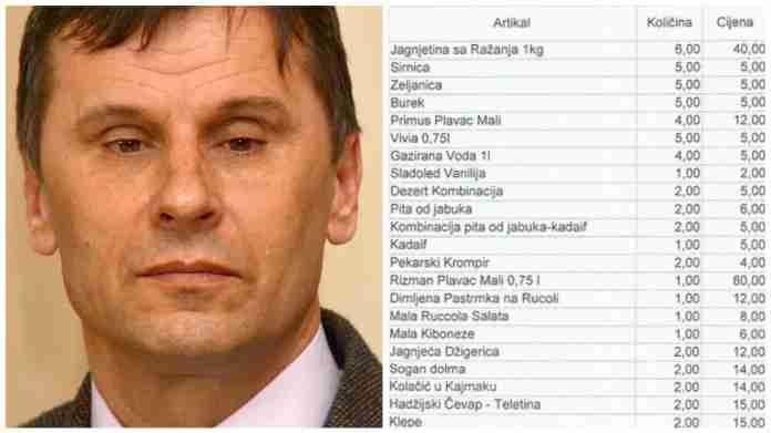 Esencijalne namirnice Fadila Novalića: Šest kilograma janjetine za ministre, a hobotnica za delegaciju MMF-a