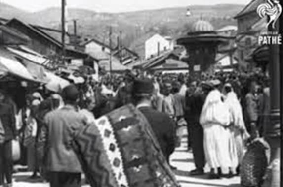DIVAN VIDEO, KOJI BUDI PONOS: Pogledajte kako je izgledao jedan običan dan u Sarajevu 1939. godine