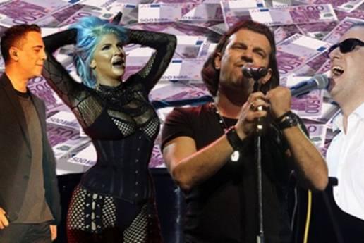 """Hrvatska luda za turbofolkom: Pogledajte koliko srbijanski pjevači zarađuju u """"lijepoj njihovoj"""""""