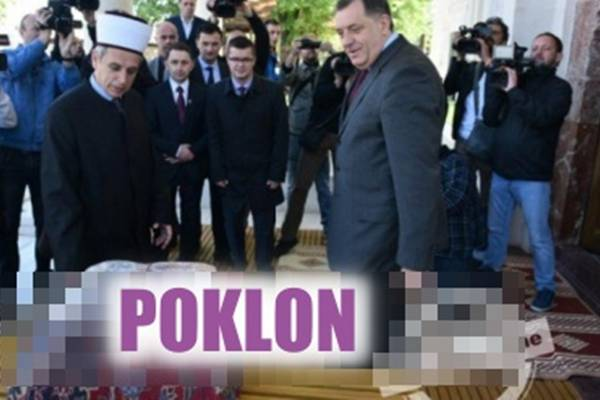 CIJELA BOSNA JE ŠOKIRANA: Pogledajte kakav je Dodik donio poklon u današnjoj posjeti Ferhadija džamiji…