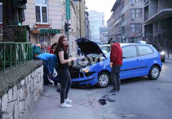 Saobraćajna nesreća u Čobaniji: 'Uviđaj' vršio poznati sarajevski glumac Saša Petrović (FOTO)
