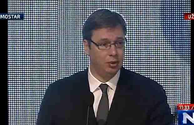 Pogledajte kakvu poruku je Vučić poslao Bošnjacima, Srbima i Hrvatima…