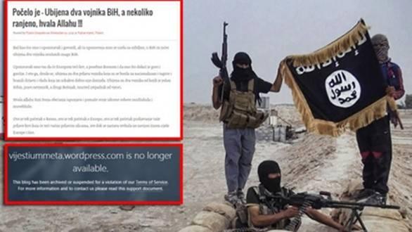 """BLOKIRAN PORTAL """"VIJESTI UMMETA"""": Islamistički blog veličao terorističke napade i ISIS"""