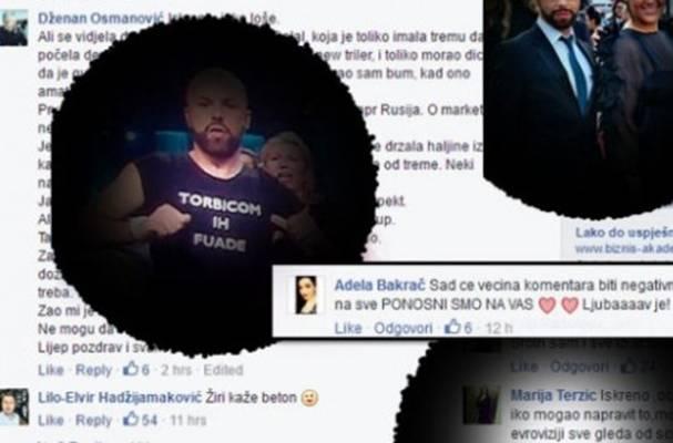 OSUDA I PODRŠKA: Na Deenov post nakon nastupa ostavljeno preko 1.200 komentara