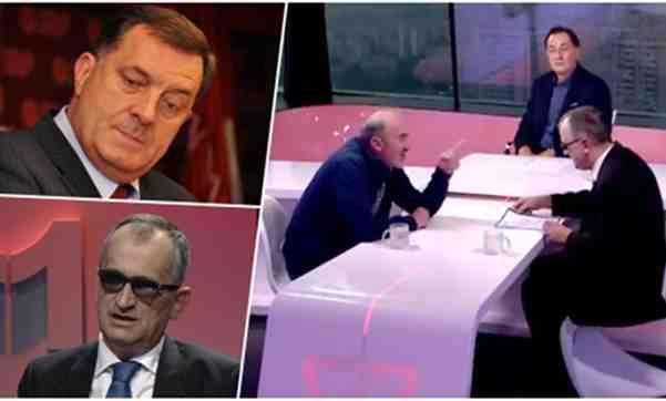 SKANDAL KAKAV SE NE PAMTI: Pogledajte ko je Dodikovog poslušnika Dževada Galijaševića 'išamarao' u Senadovom dnevniku