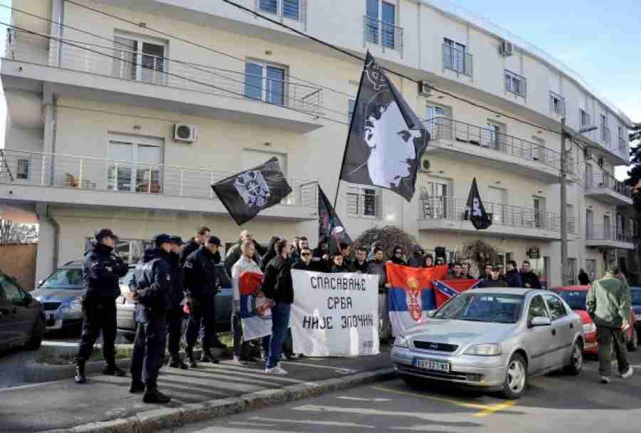 """U BEOGRADU SE SUKOBILI NEDIĆEVCI I PARTIZANI: Jedni drugima vikali """"Fašisti"""" i """"Bando hrvatska"""""""