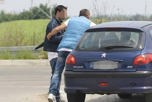 Ovako je izgledalo hapšenje na grobu Jelene Marjanović! (FOTO)