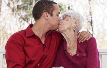 DA OČIMA NE VJERUJEŠ: Njemu je 31 godina, voli 60 godina stariju ženu!