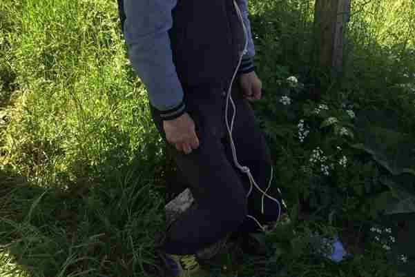 UZNEMIRUJUĆA FOTOGRAFIJA: U Sarajevu pronađen obješen muškarac