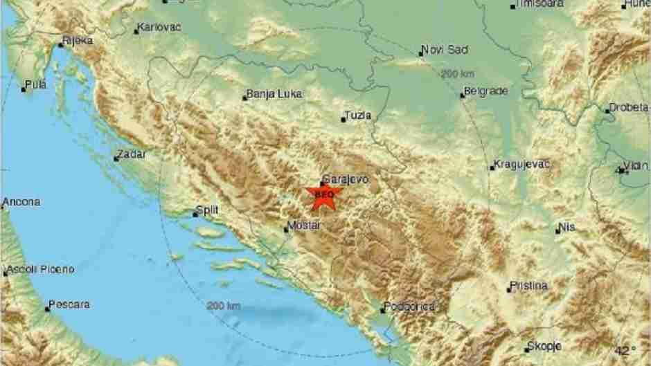 Zemljotres 'protresao' glavni grad BiH