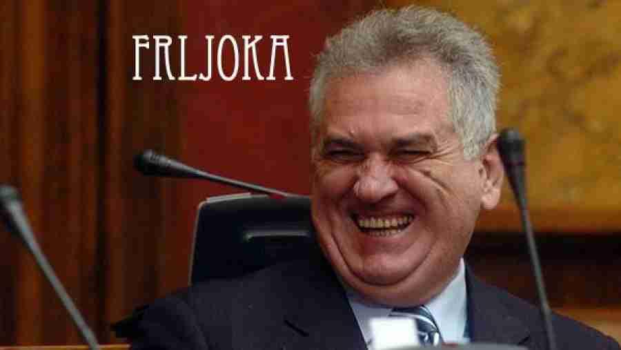 """""""FRLJOKA"""" U BANJOJ LUCI: Savladan i uhapšen muškarac koji je tokom govora Tomislava Nikolića pucao od smijeha!"""