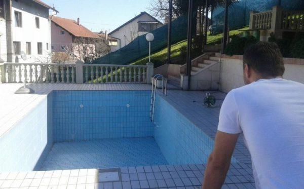 Pijan skočio u prazan bazen i slomio lobanju: Nikome nije jasno zašto je to učinio, vjerovatno je mislio da je bazen napunjen vodom.