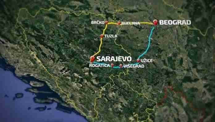 Federalni parlament usvojio: Brza cesta Sarajevo – Beograd treba da ide preko…
