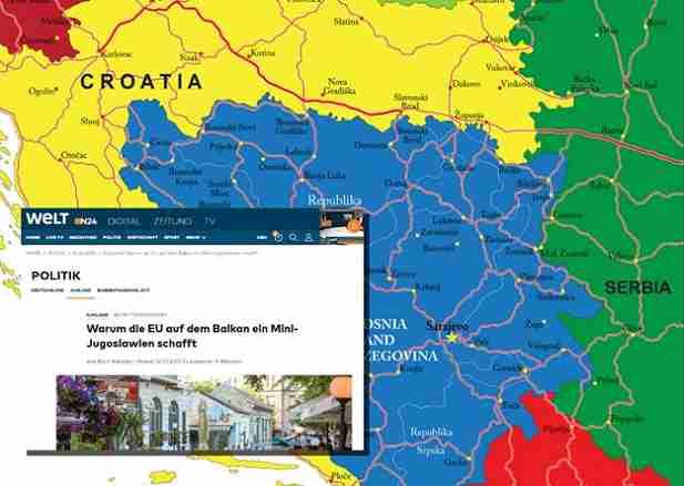 EVROPA REHABILITIRA ALIJU! Die Welt: Cilj Europske unije je stvoriti mini Jugoslaviju na Balkanu