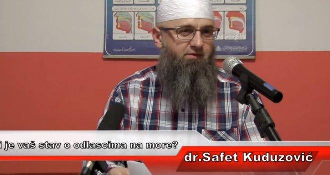 Dr. Safet Kuduzović savjetuje muslimane: Na more možete samo u Ulcinj, i to u januaru i februaru. Mart je već kritičan!