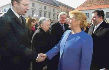 Kolinda i Vučić u (opasnoj) zajedničkoj misiji: Spašavanje mrtvog Tuđmana više će štetiti Hrvatskoj nego BiH!