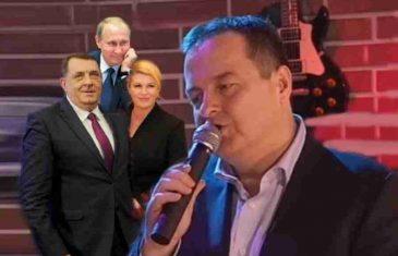 RASPJEVANI POLITIČARI BALKANA Ko bolje pjeva: Dačić, Dodik, Govedarica, Vučić, Kolinda, ili..?!