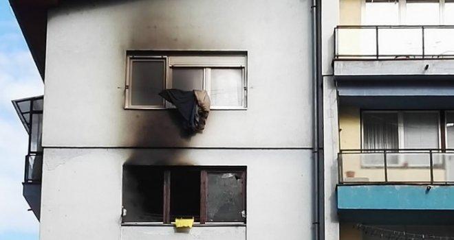 Jeziva tragedija u Sarajevu: U požaru na Grbavici izgorjela žena, u stanu pronađeno tijelo