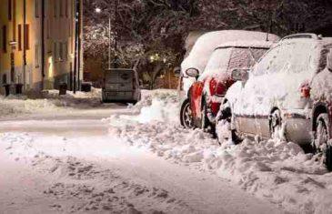 Prva postnovogodišnja prognoza: Januar počinje s puno kiše i snijega, a onda stiže…