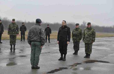 SKANDALOZNI VUČIĆEV MINISTAR: Raportira u uniformi paravojnih formacija koje su ubijale po BiH i Hrvatskoj