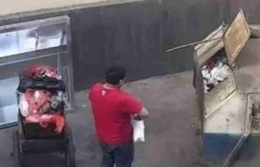 JEZIVO: Otac bacio bebu u kontejner jer je mislio da je…