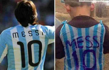 """SVI OSTALI BEZ TEKSTA kad se otkrilo ko je dječak čija je slika u """"Messijevom dresu"""" obišla svijet! FOTO"""