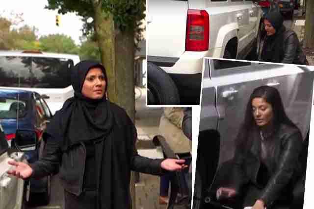 ŽENI PUKLA GUMA NA AMERIČKOJ ULICI: Evo kako su joj pomagali kad je nosila maramu, a kako bez nje…