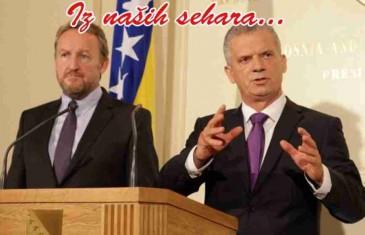 DVA JARANA ISTU VLAST VOLE: Šta su jedan o drugom govorili veliki koalicioni partneri Radončić i Izetbegović