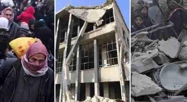 NOVA HUMANITARNA KATASTROFA Asad i Rusi sravnjuju Alep sa zemljom, čak 70.000 ljudi očajnički pokušava pobjeći