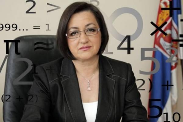 Srpska ministarka ne zna da računa: Pogledajte kako množi Snežana Bogosavljević!