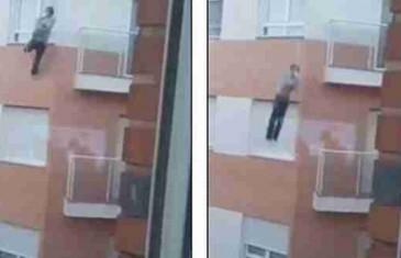 Uznemirujući video: Zaboravio ključeve od stana i pokušao ući preko balkona a onda pao i poginuo