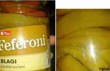 (FOTO) Bosanac iz Jelaha kupio teglu feferona a onda se šokirao onim što je pronašao unutra