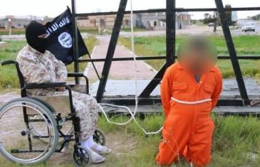 Muškarac u invalidskim kolicima je novi ISIS-ov egzekutor?