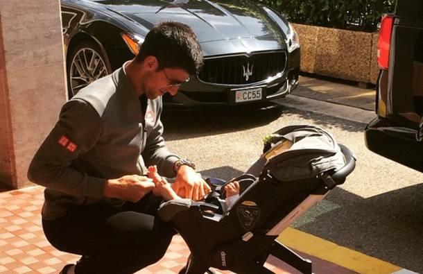 PRESLATKO: Ovako je Novak reagovao kada je video kako sin Stefan navija za njega