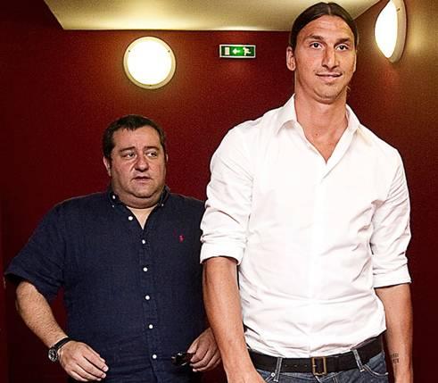 """Sjajna priča: Kako je Mino Raiola """"spustio na zemlju"""" Ibrahimovića i preokrenuo mu život"""
