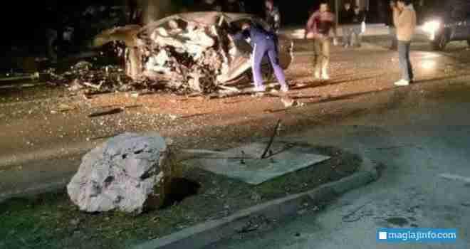 Horor na bh. cestama: U stravičnoj nesreći kod Žepča poginule tri osobe, a tri lica teško povrijeđena