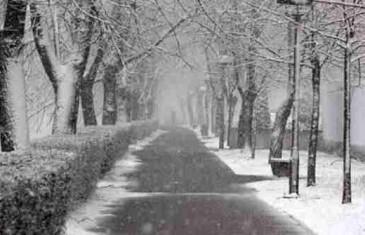 Vrijeme sutra: Na planinama snijeg, u nizinama susnježica