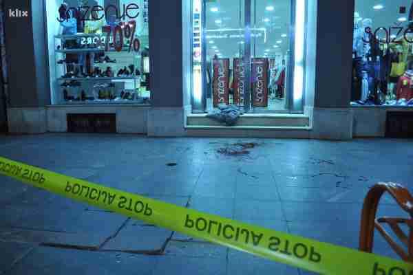 Sarajevo: Jedna osoba ranjena u pucnjavi u centru grada (FOTO)